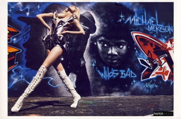 """GRAFFI-COUTURE"" BY MARIO SORRENTIvogue paris nov 09 papermode6"