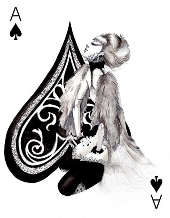 THE FASHION PLAYING CARDS SERIES BY CONNIE LIM @ cyanatrendland10
