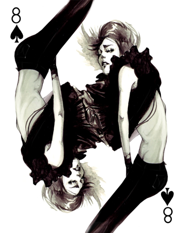 THE FASHION PLAYING CARDS SERIES BY CONNIE LIM @ cyanatrendland11