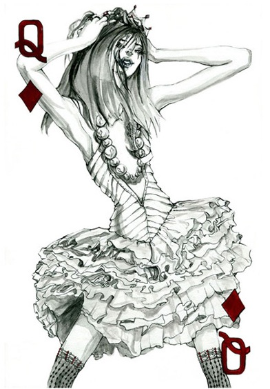 THE FASHION PLAYING CARDS SERIES BY CONNIE LIM @ cyanatrendland4