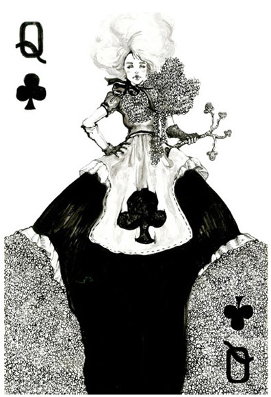 THE FASHION PLAYING CARDS SERIES BY CONNIE LIM @ cyanatrendland5