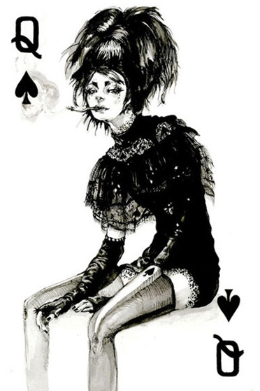 THE FASHION PLAYING CARDS SERIES BY CONNIE LIM @ cyanatrendland6