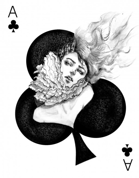THE FASHION PLAYING CARDS SERIES BY CONNIE LIM @ cyanatrendland7