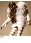furfeatherandbandages@Numéro #109 | Abbey Lee Kershaw by Miguel Reveriego@fashiongonerogue7