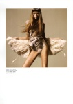 furfeatherandbandages@Numéro #109 | Abbey Lee Kershaw by Miguel Reveriego@fashiongonerogue8